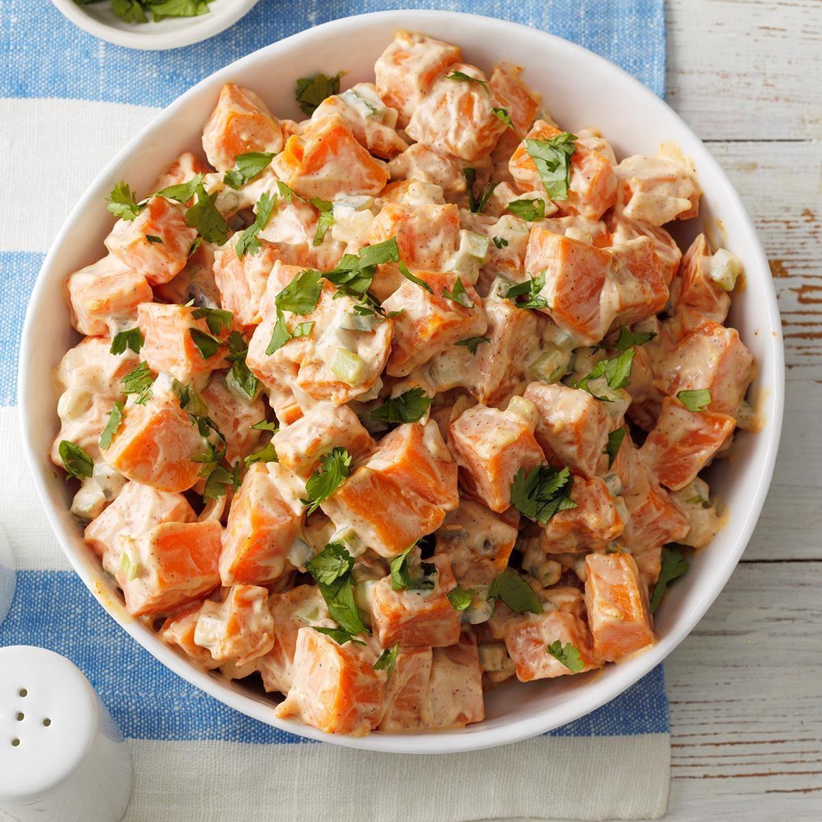 Ohio: Chipotle Sweet Potato Salad