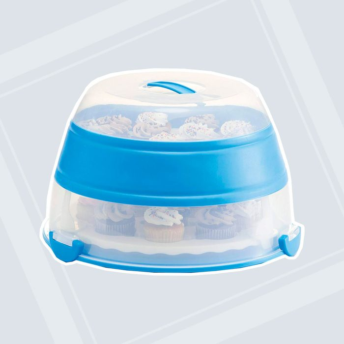 Prepworks Collapsible Cupcake and Cake Carrier