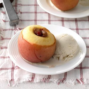 Pressure-Cooker Cranberry Stuffed Apples