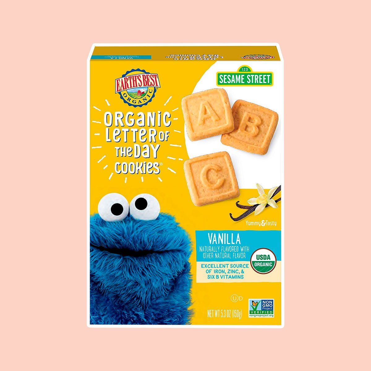 Earth's Best Organic Letter Cookies