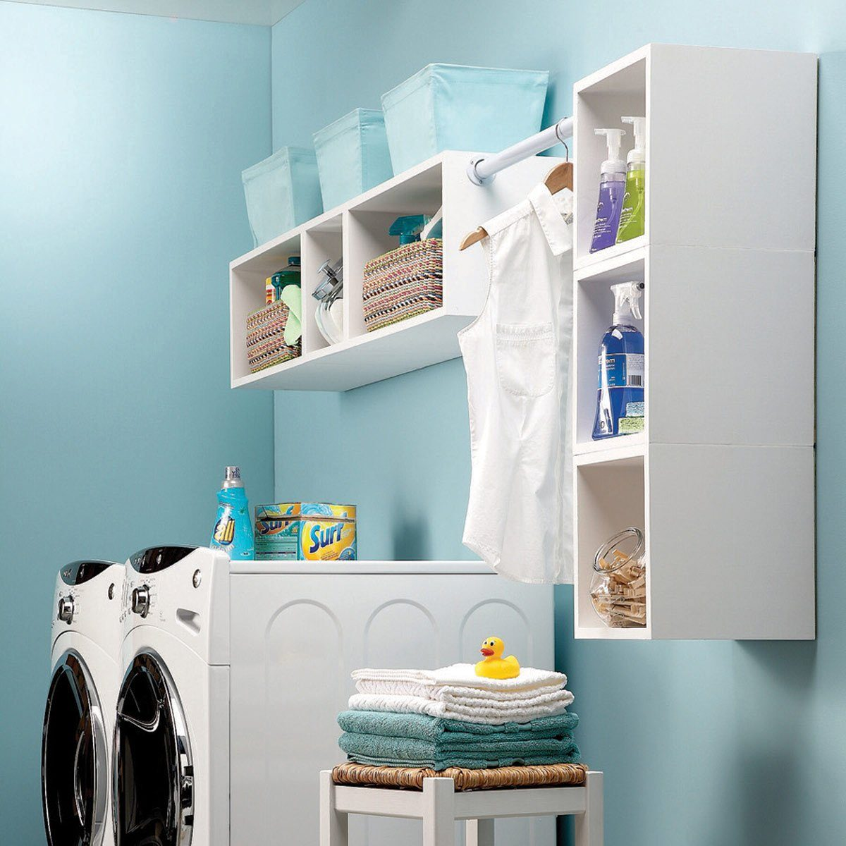 25 Inexpensive Laundry Room Updates You Can Diy Family Handyman