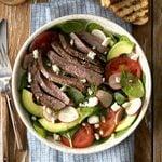 Flat Iron Steak Salad