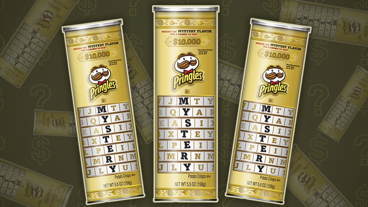 Guess the Pringles Mystery Flavor and You Could Win $10,000