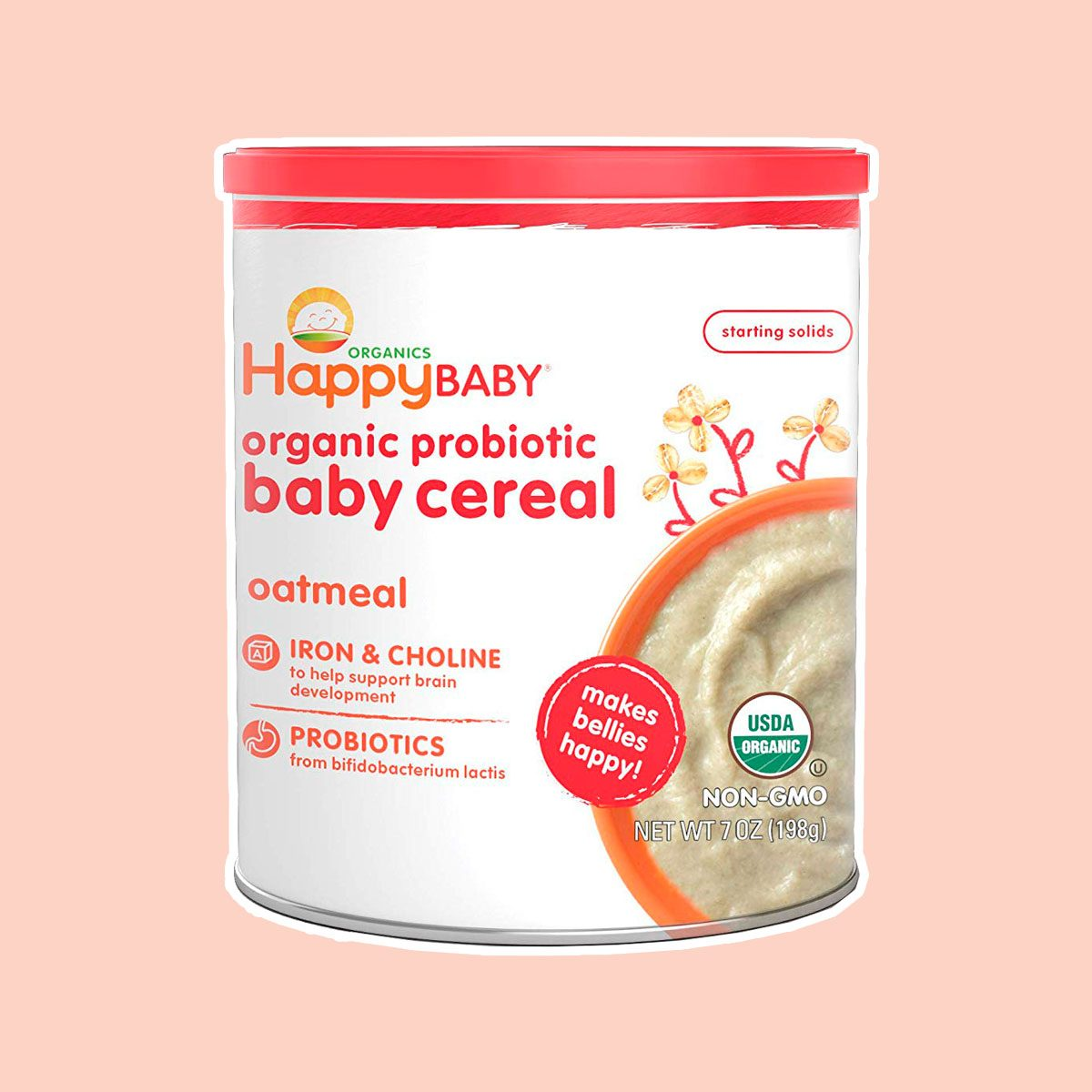 Happy Baby Organic Baby Cereal