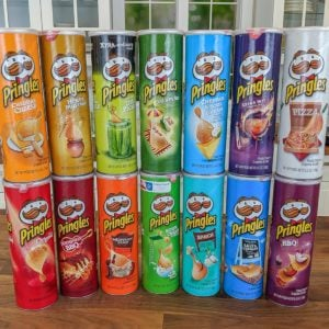 We Tried Every Single Pringles Flavor, Here's How They Ranked