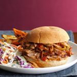 Pressure-Cooker Italian Pulled Pork Sandwiches