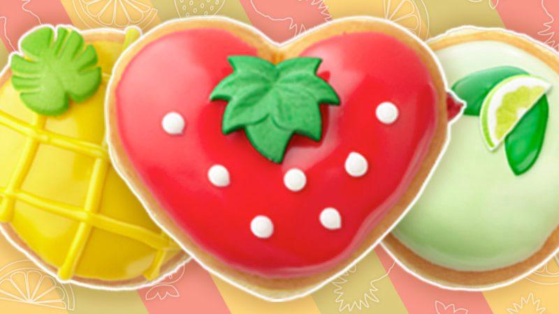 Krispy Kreme's new fruit-inspired doughnuts for summer.
