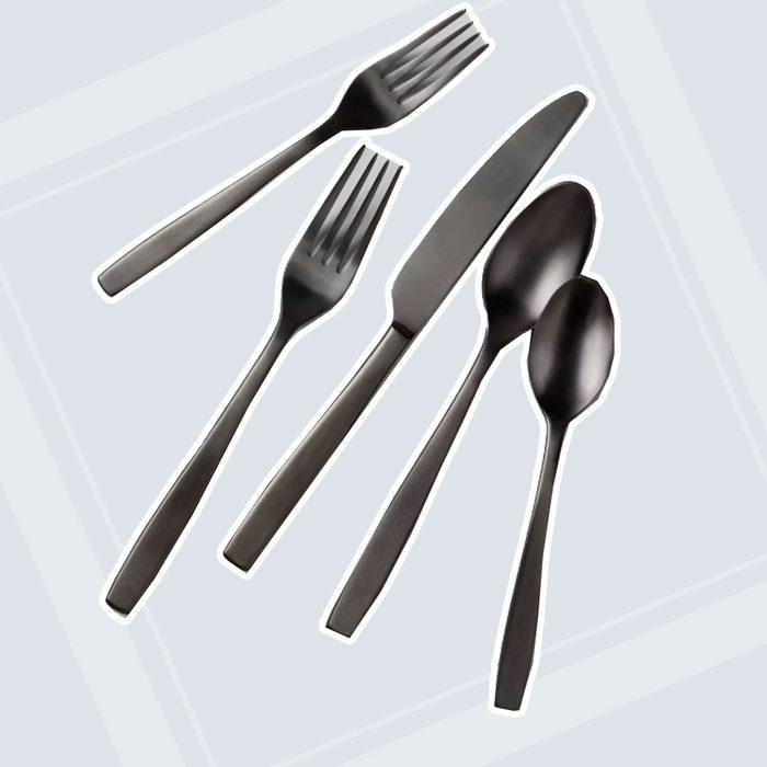 Matte Black Silverware