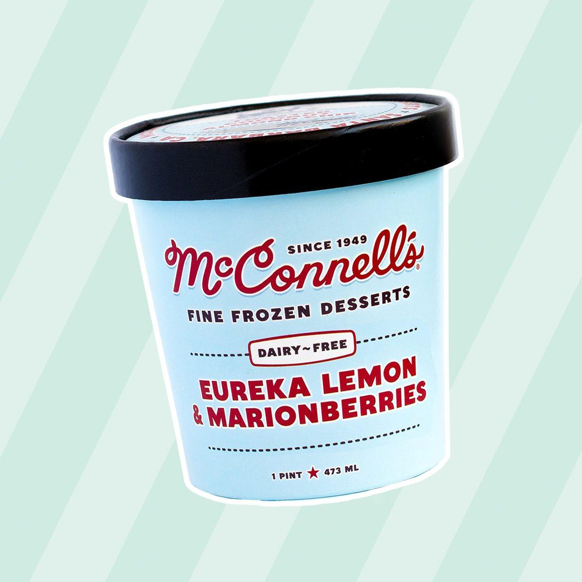 McConnell's Fine Ice Creams DAIRY-FREE EUREKA LEMON & MARIONBERRIES