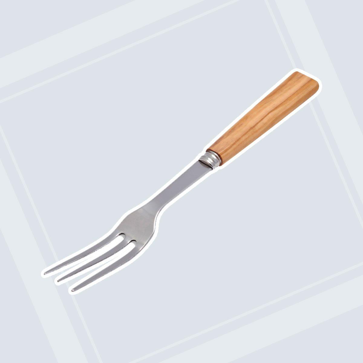 Olivewood Handle Serving Fork