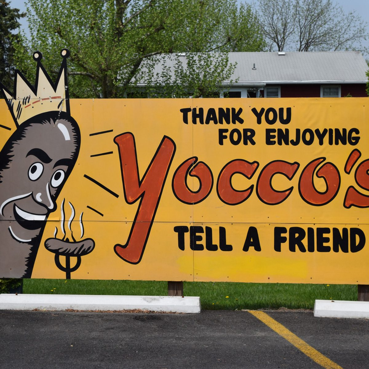 Yocco's sign
