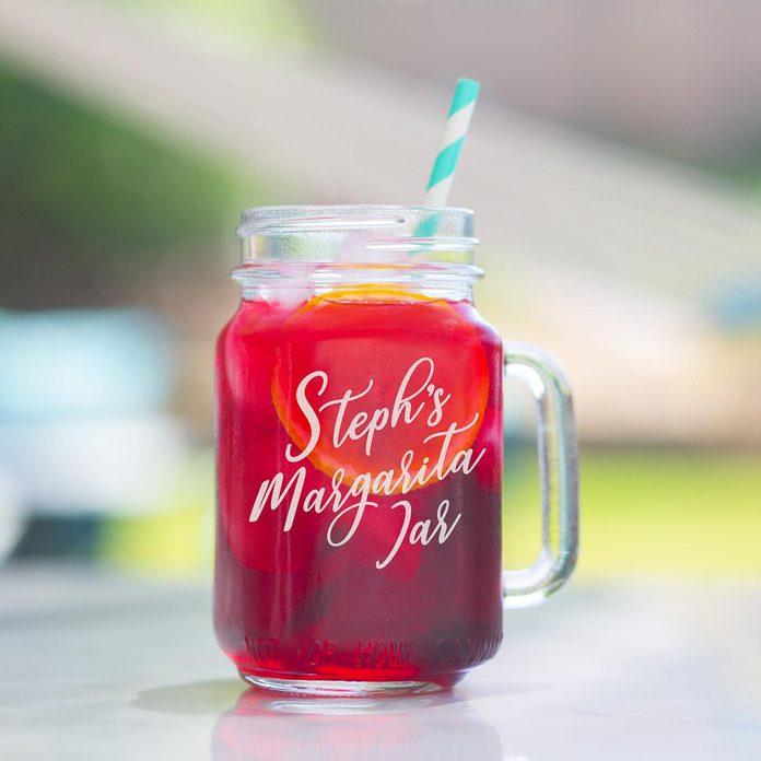 best margarita glasses Personalized Mason Jar Margarita Glasses