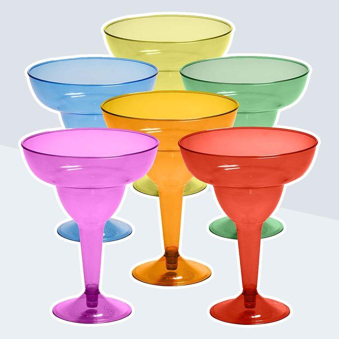 best margarita glasses Plastic Margarita Glasses