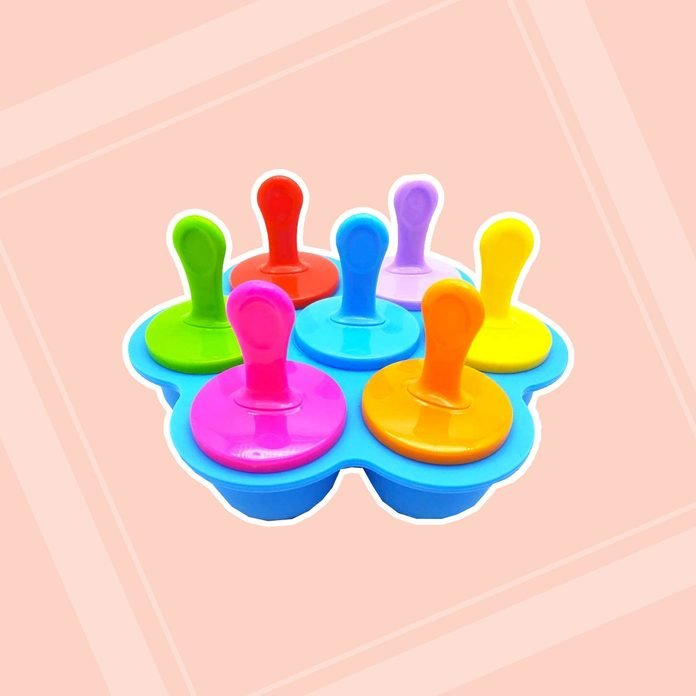 best popsicle molds Popsicle Silicone Plastic 7 Cavity Non Stick