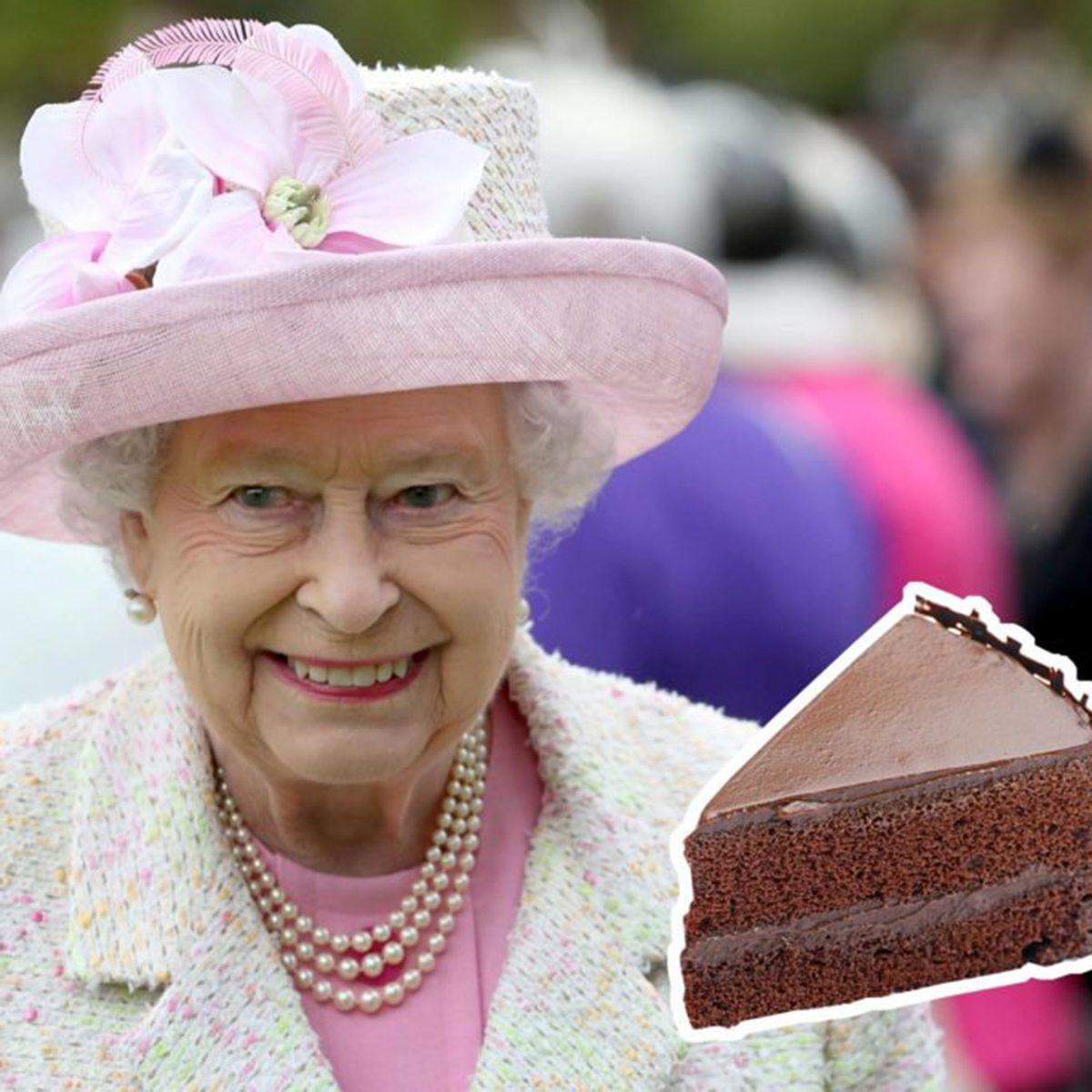 Queen Elizabeth II cake