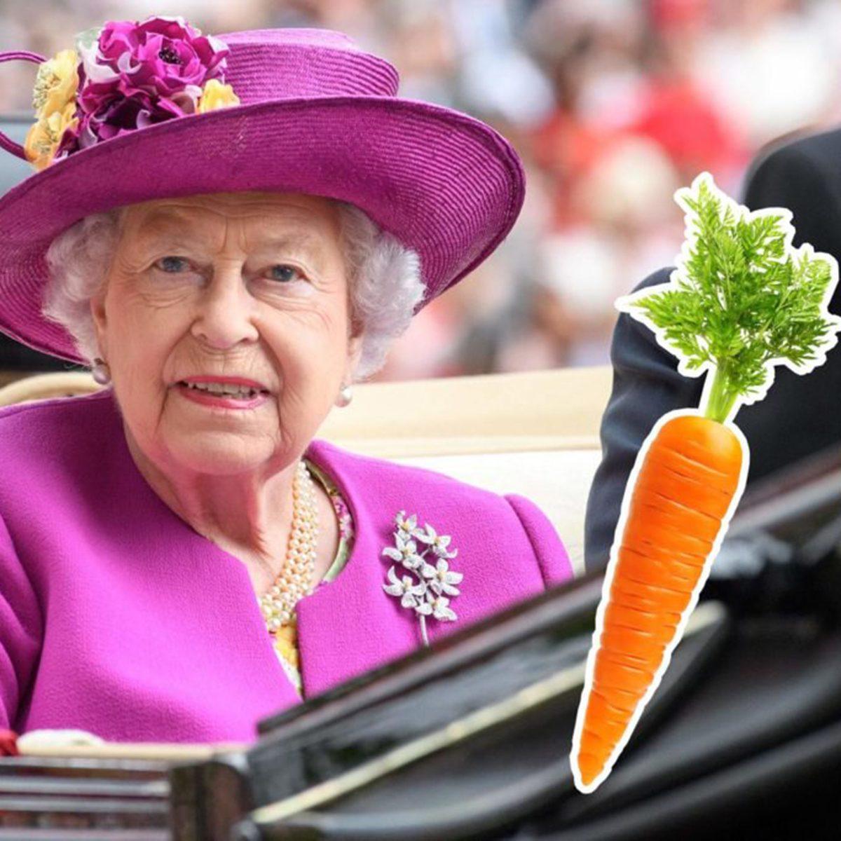 Queen Elizabeth II carrot