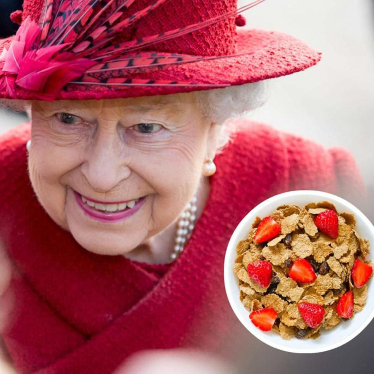 Queen Elizabeth II cereal
