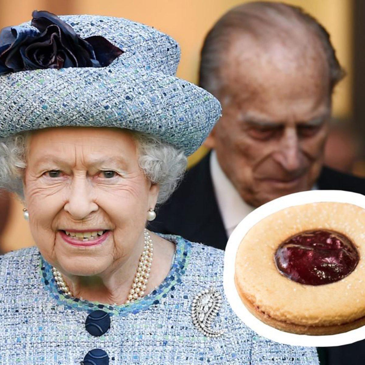 Queen Elizabeth II jam pennies
