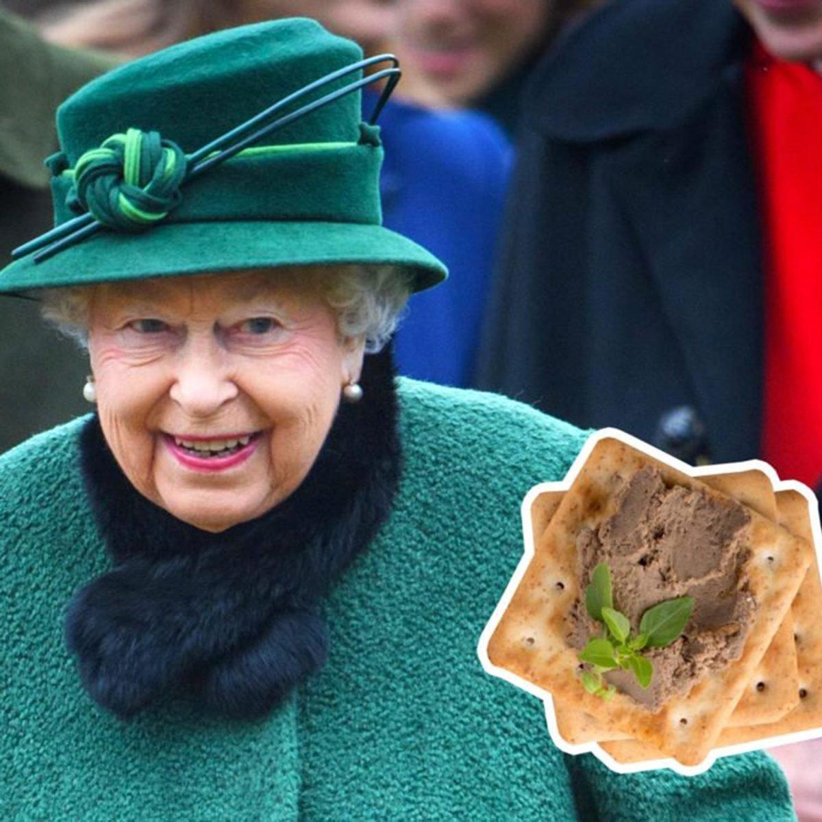 Queen Elizabeth II pate