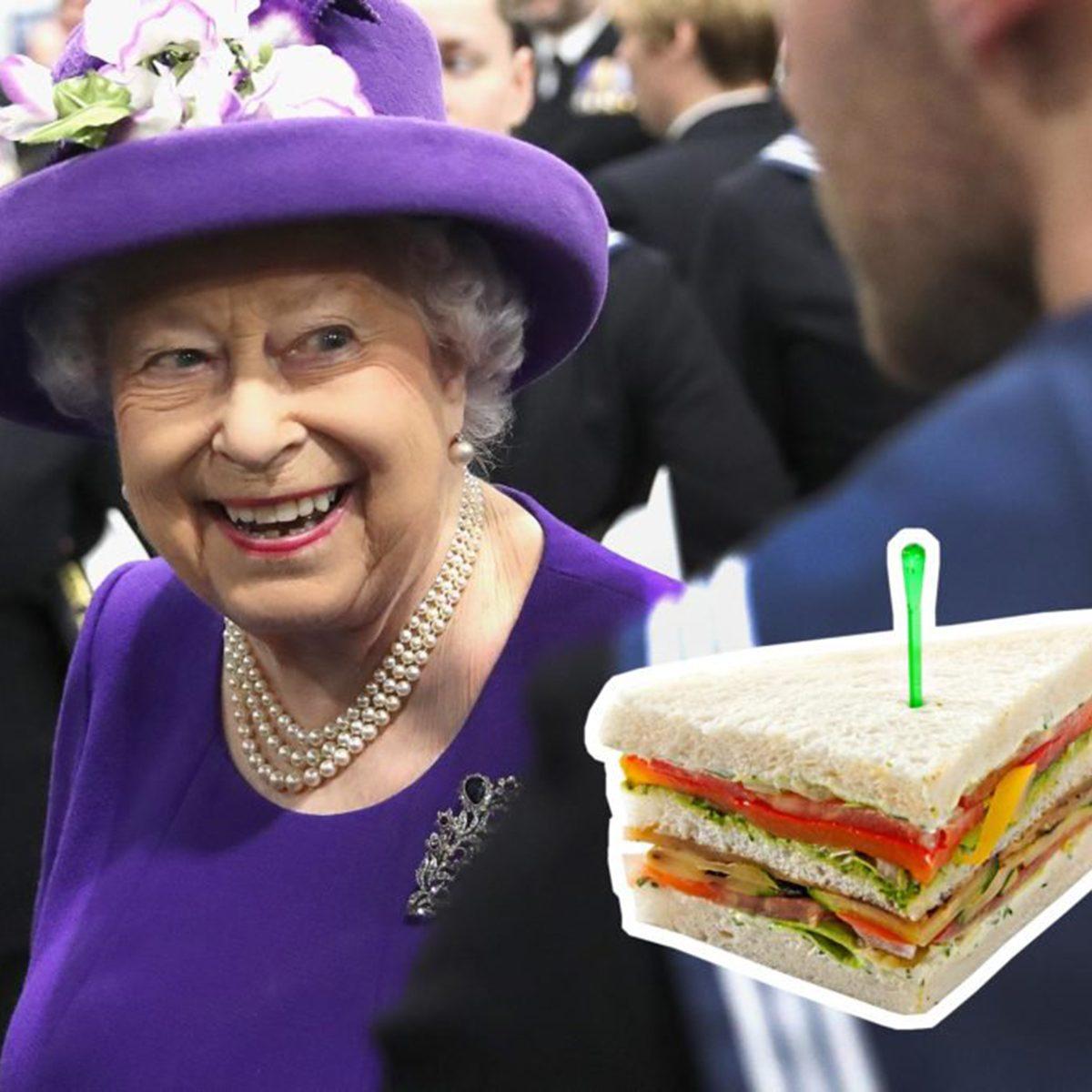 Queen Elizabeth II sandwiches