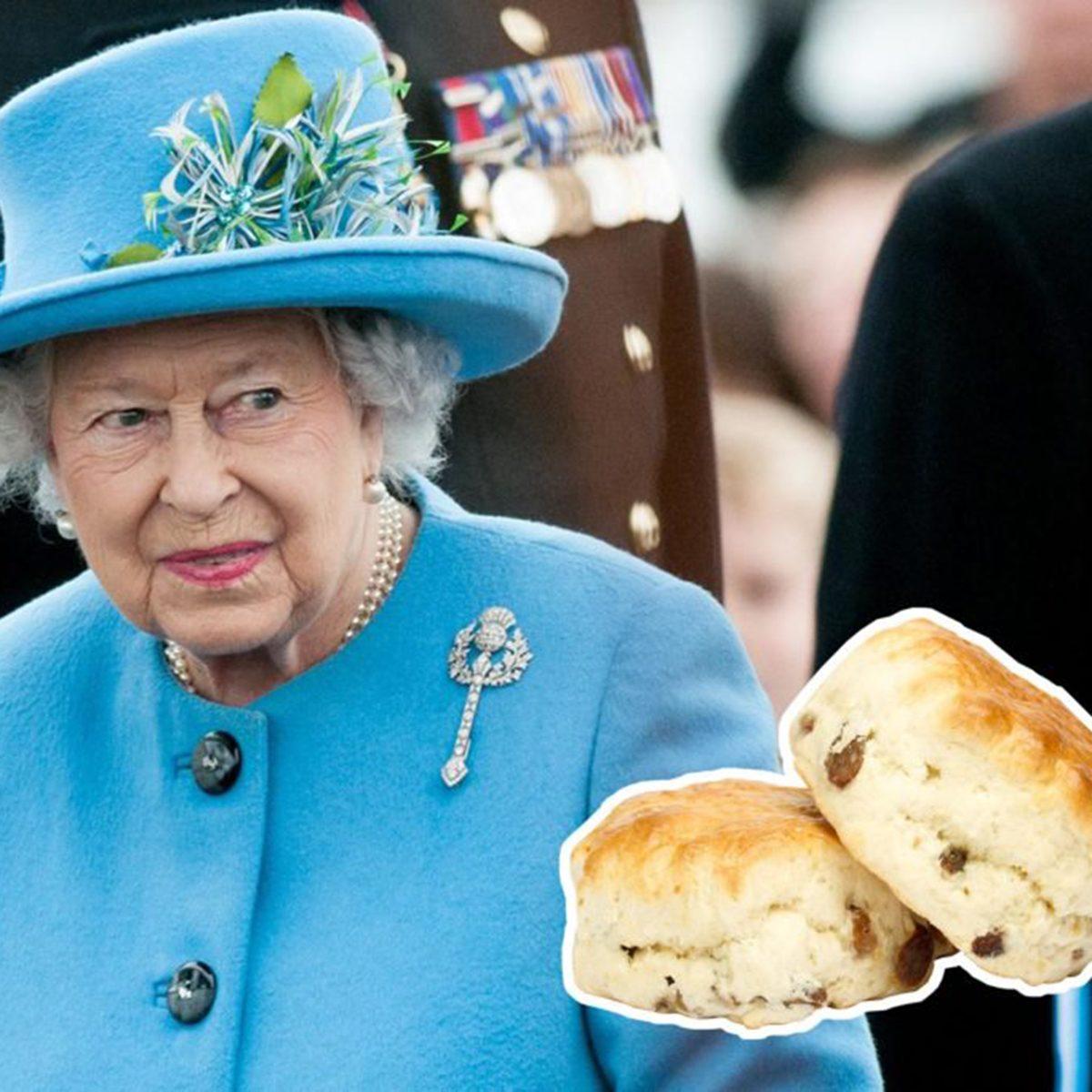Queen Elizabeth II scones