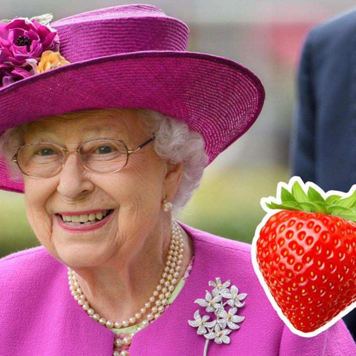 Queen Elizabeth II strawberrry