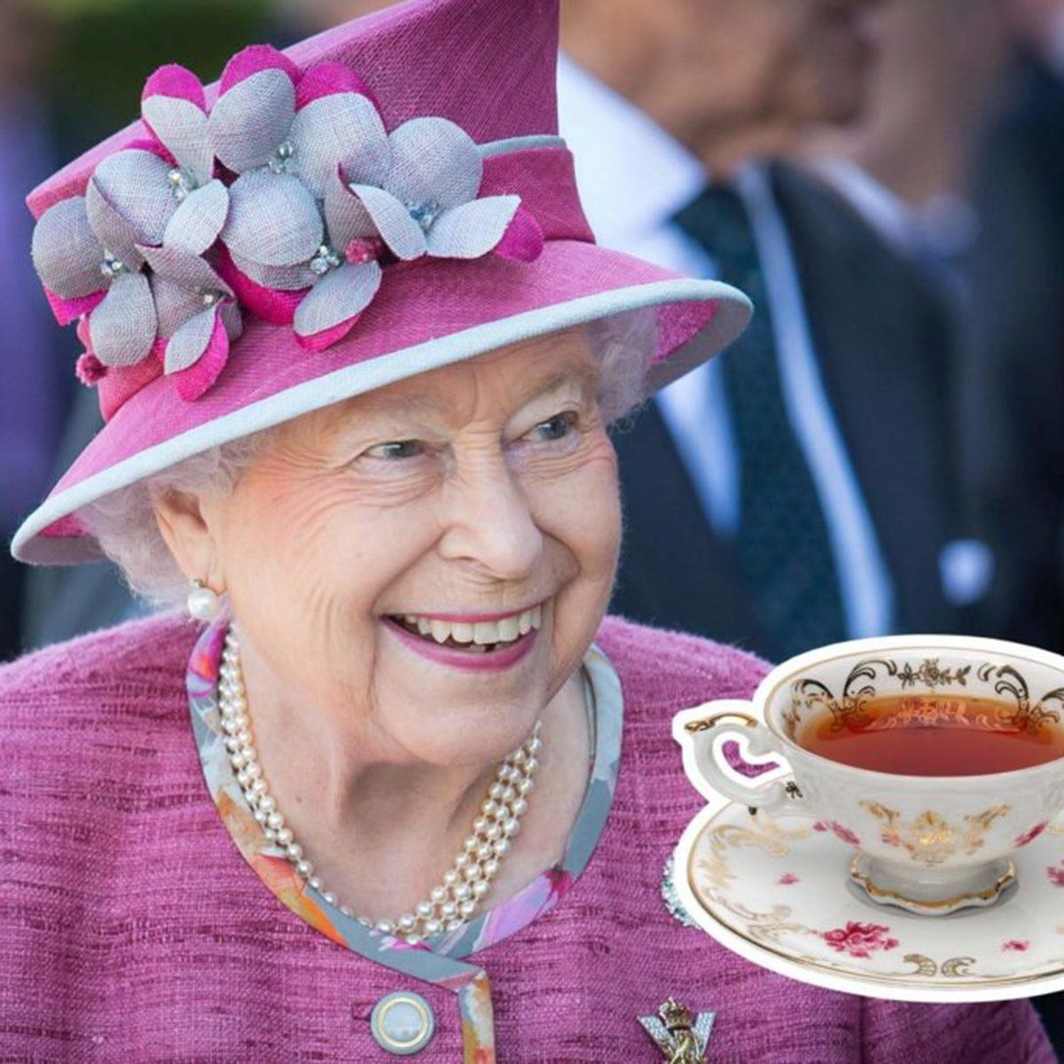 Queen Elizabeth II tea
