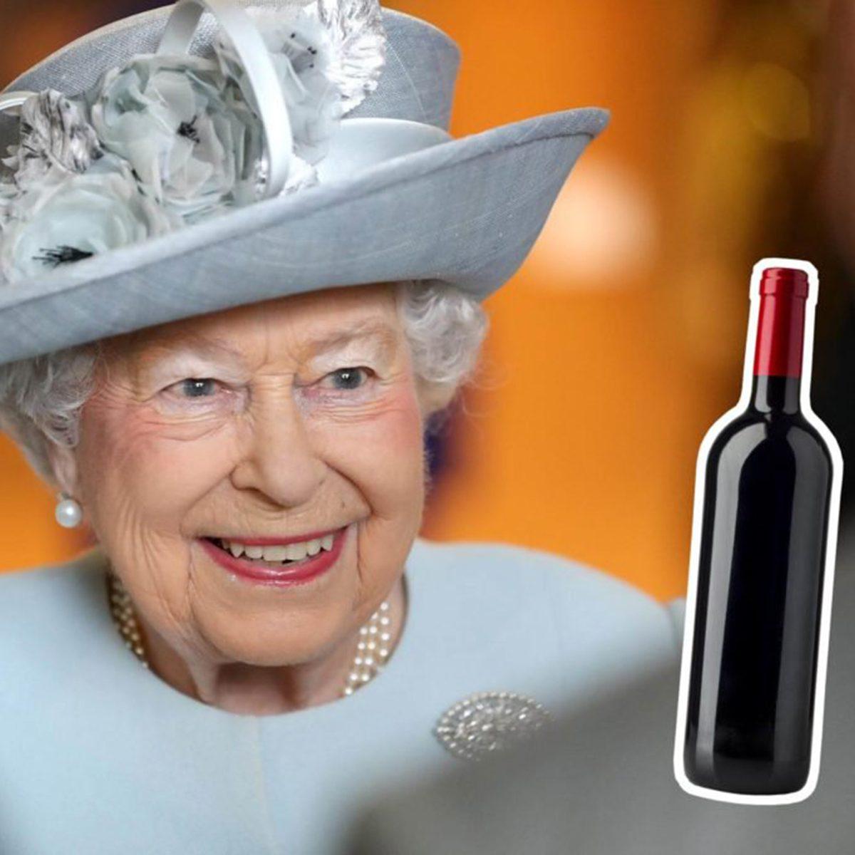 Queen Elizabeth II wine