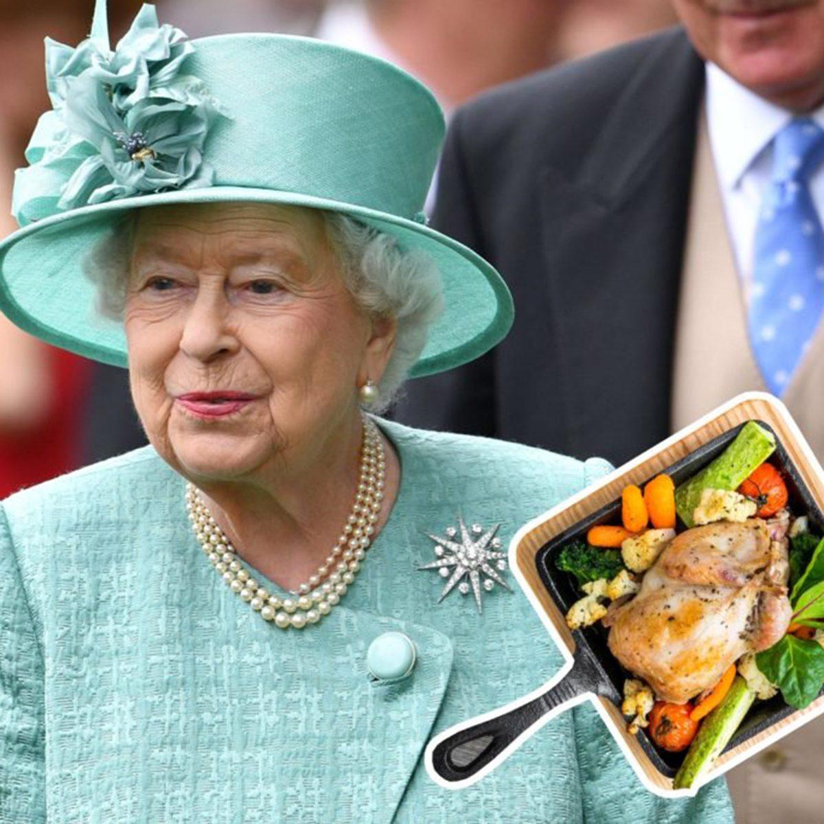 Queen Elizabeth II pheasant