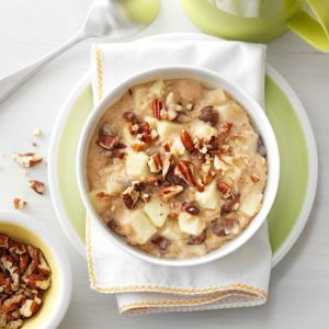 Pressure-Cooker Raisin Nut Oatmeal