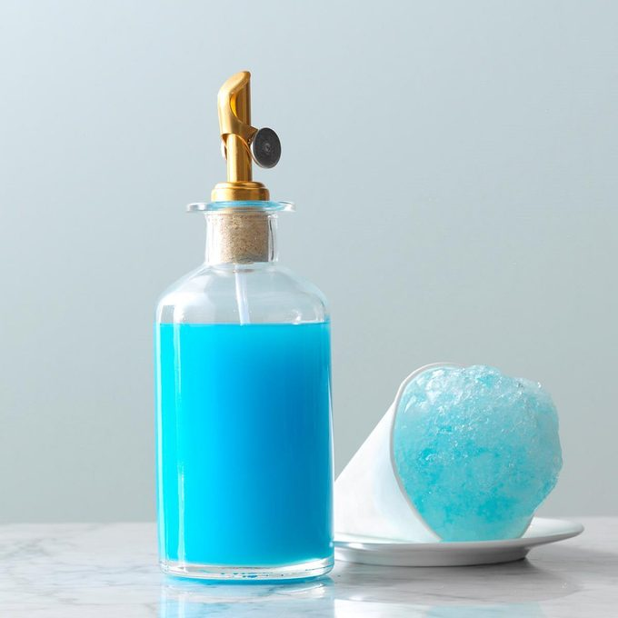 Inspired by: Blue Snow Cones