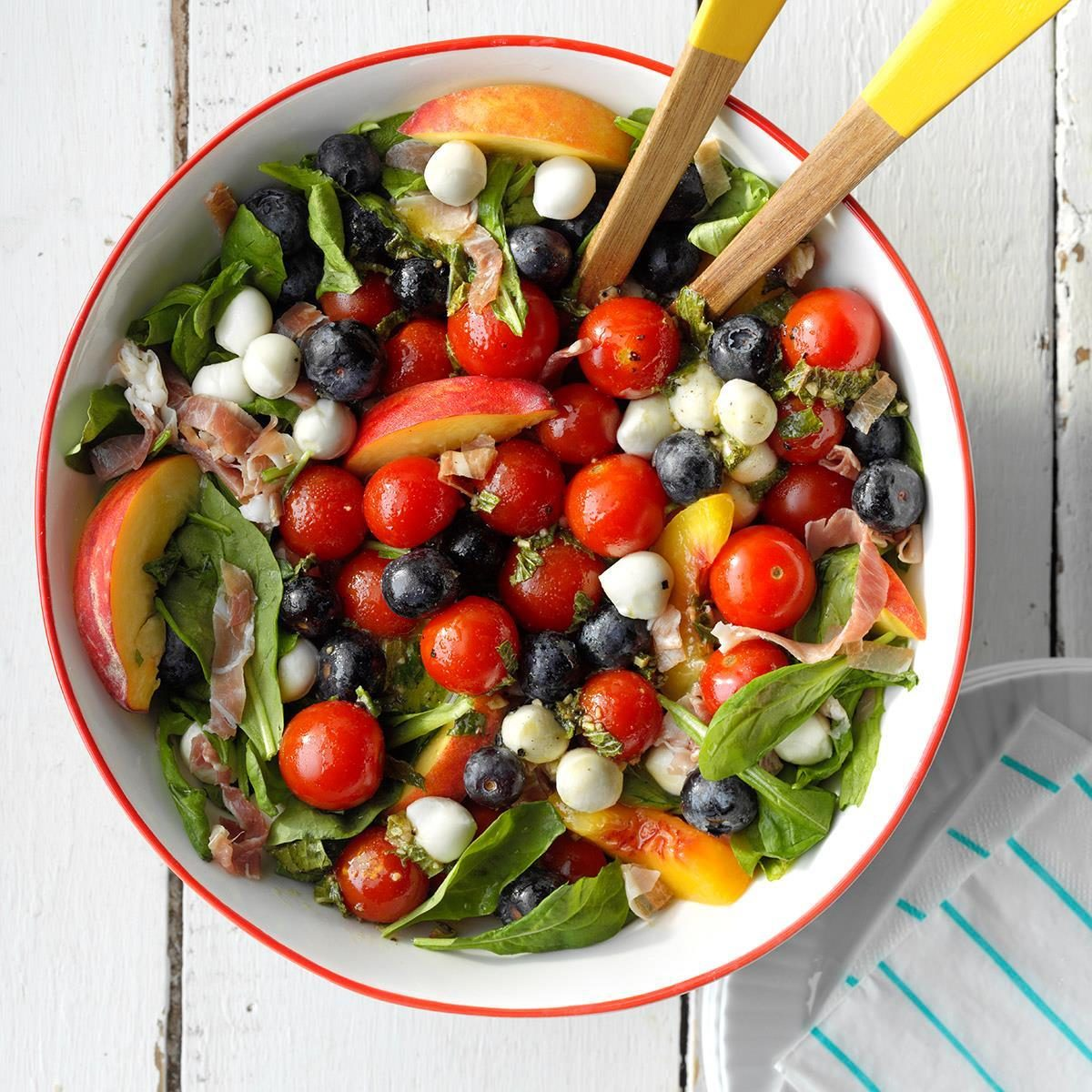 Red, White and Blue Summer Salad