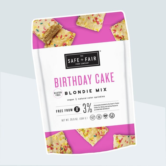 Birthday Cake Blondie Mix
