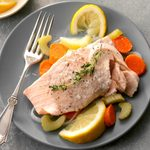 Pressure-Cooker Simple Poached Salmon