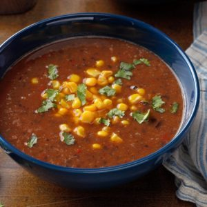 Pressure-Cooker Black Bean Soup
