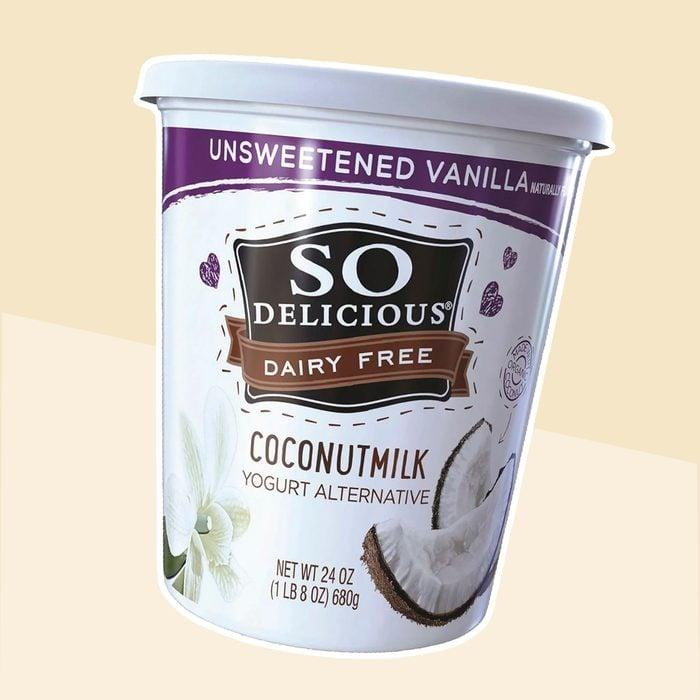 So Delicious Dairy Free Unsweetened Vanilla Coconut Milk Yogurt Alternative
