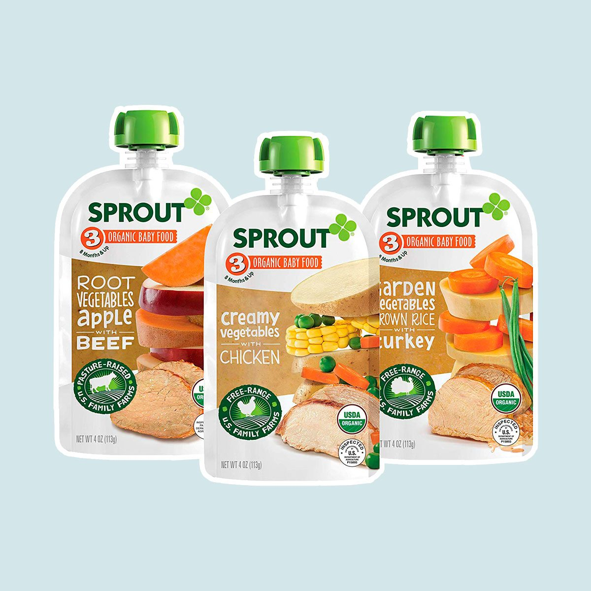 Sprout Organic Stage 3 Foods