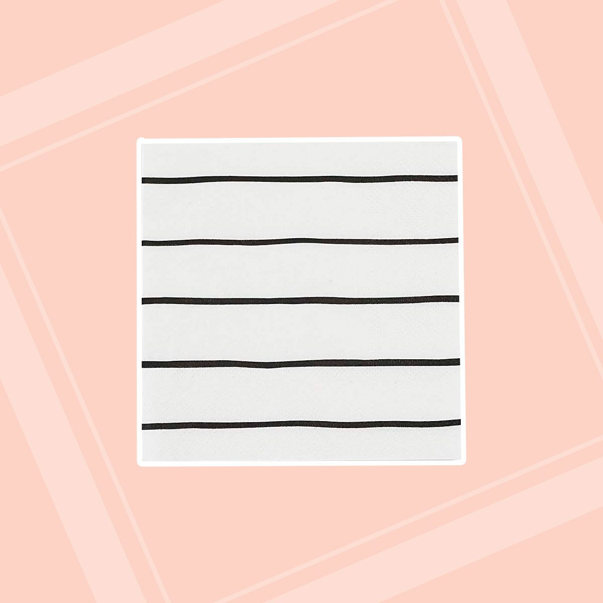 Striped Paper Napkins