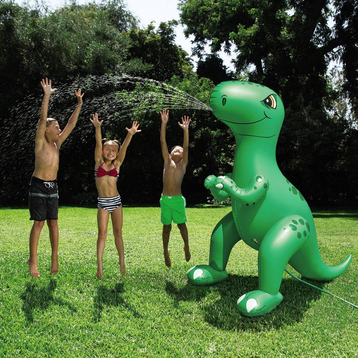 Giant Dino Sprinkler