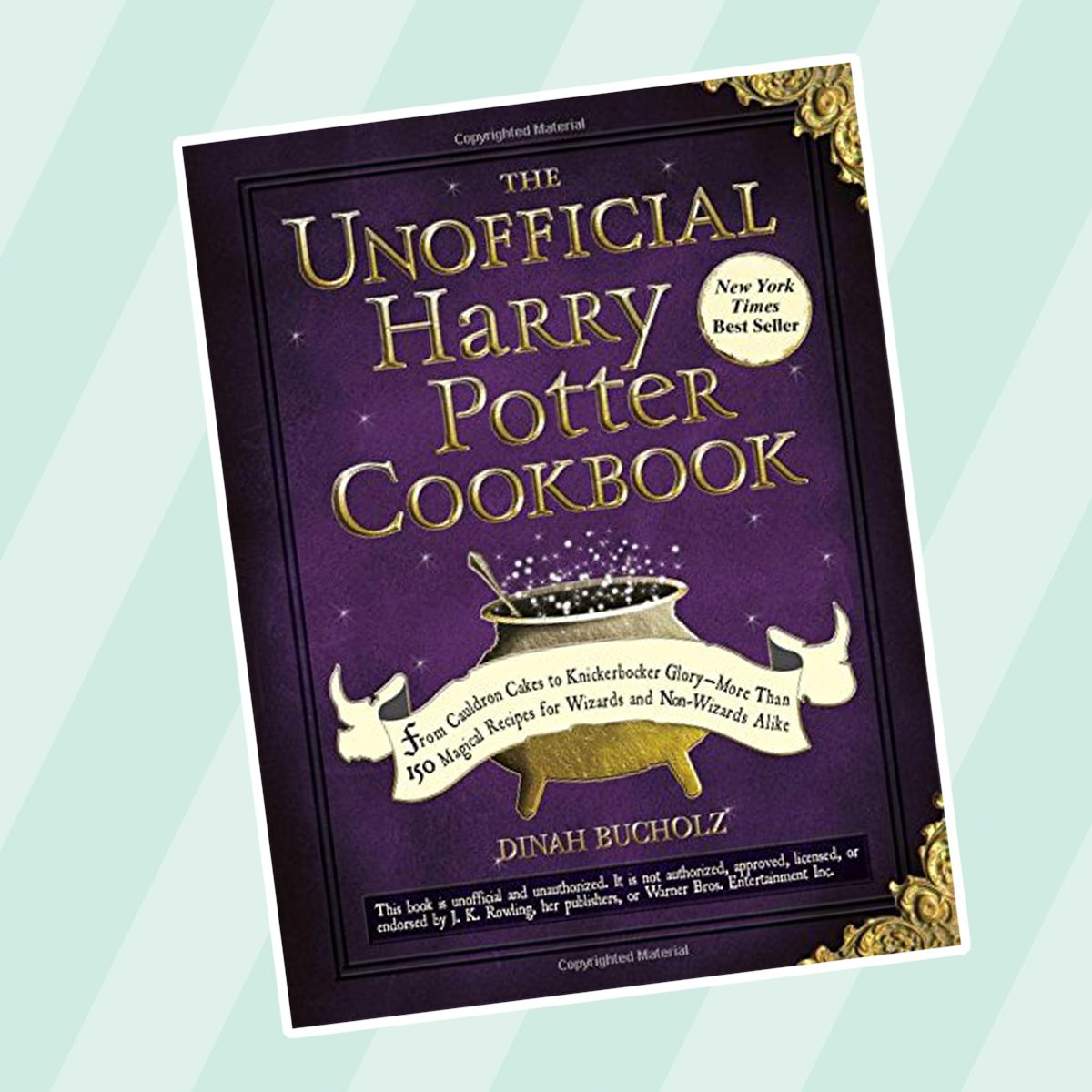he Unofficial Harry Potter Cookbook: From Cauldron Cakes to Knickerbocker Glory--More Than 150 Magical Recipes for Wizards and Non-Wizards Alike (Unofficial Cookbook)