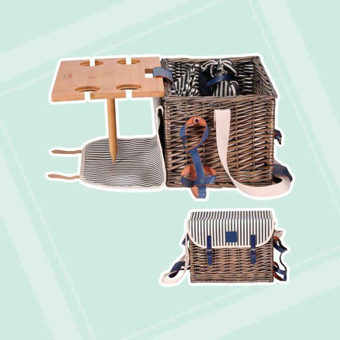 Vaultsac Picnic Basket with Table