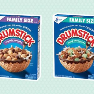 The New Drumstick Ice Cream Cereal Is A Treat We All Deserve