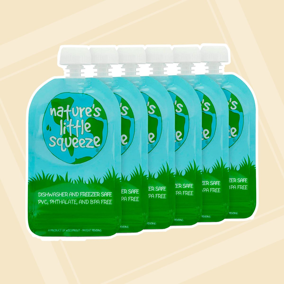 WeeSprout Reusable Food Pouches