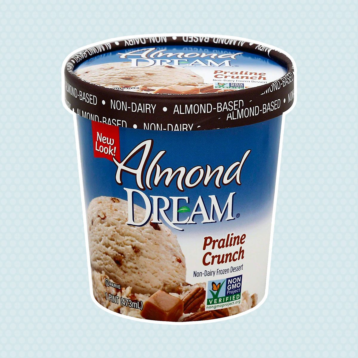 Almond Dream Praline Crunch Non-Dairy Dessert, 16 oz (frozen)