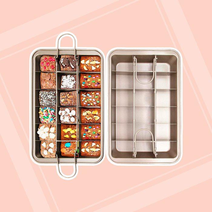 Raybin Slice Solutions Brownie Pan