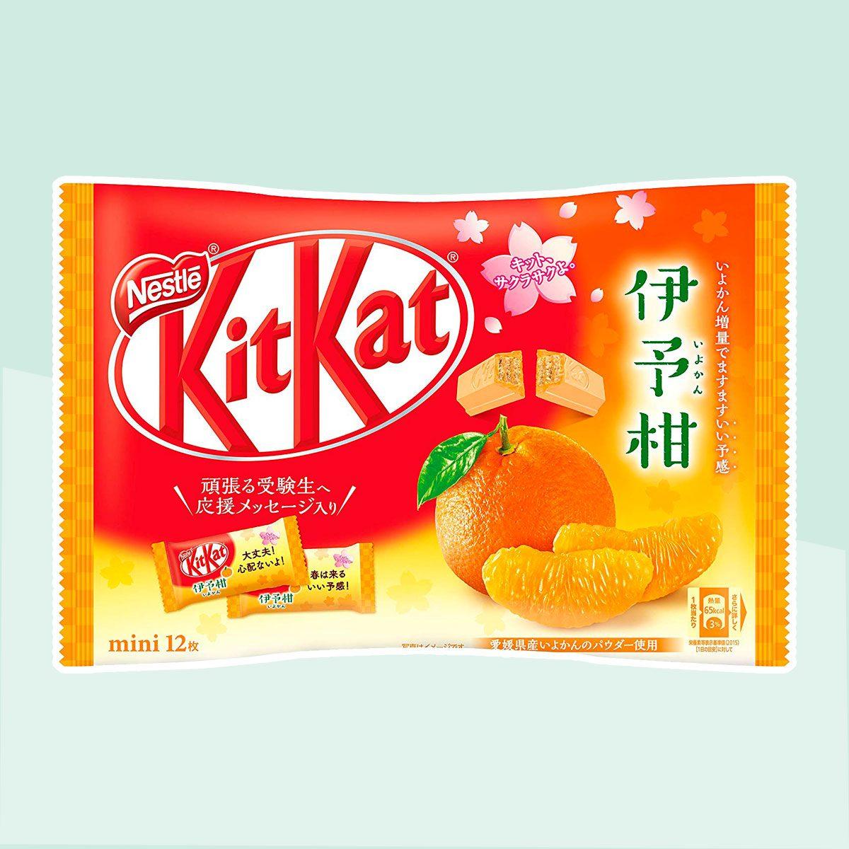 Orange Kit-Kat
