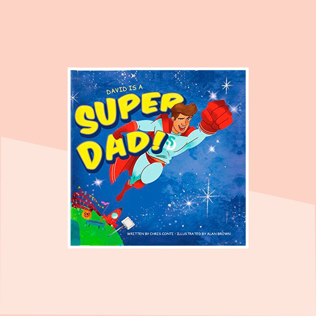 Super Dad! Personalized Book