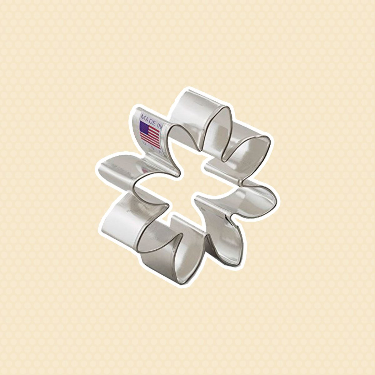 Ann Clark Daisy Cookie Cutter - 3 Inches - Tin Plated Steel