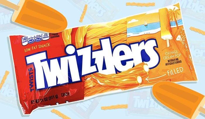 Orange Cream Pop Twizzler