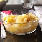 Pressure-Cooker Homemade Chunky Applesauce